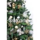 """Brad de Craciun 210 cm """"ninge cu fluturi"""""""