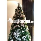"""Brad de Craciun 240 cm """"ninsoare imaculata"""""""
