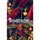 "Brad de Craciun 210 cm -""bogatie grena"""