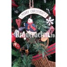 """Brad de Craciun 240 cm """"merry christmas"""""""