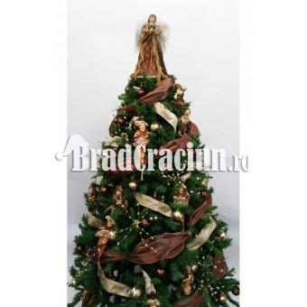 """Brad de Craciun 210 cm -""""vrajitoarele de ciocolata"""""""