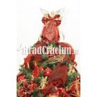 """Brad de Craciun 210 cm -""""eleganta de bordeaux"""""""