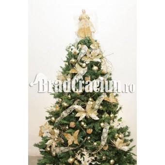 """Brad de Craciun 210 cm """"cuib de pasari"""""""