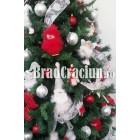 "Brad de Craciun 240 cm ""puf de iarna"""