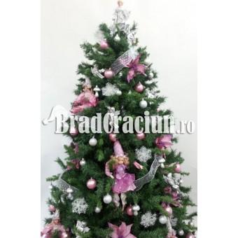 "Brad de Craciun 210 cm ""zana bombonica"""