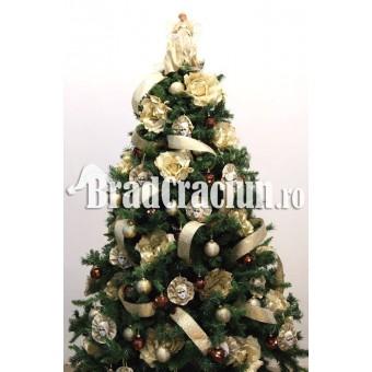 """Brad de Craciun 210 cm """"flori la Venetia"""""""