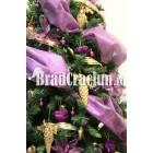 "Brad de Craciun 210 cm -""liliac de Craciun"""