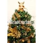 """Brad de Craciun 210 cm """"caramel regal"""""""
