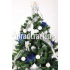 """Brad de Craciun 210 cm """"iarna florilor"""""""