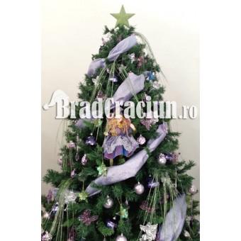 "Brad de Craciun 210 cm -""zana panseluta"""