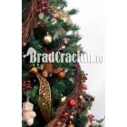 "Brad de Craciun 210 cm -""welcome rustic"""