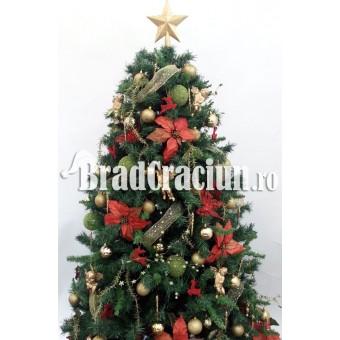 """Brad de Craciun 210 cm """"armonie rafinata"""""""