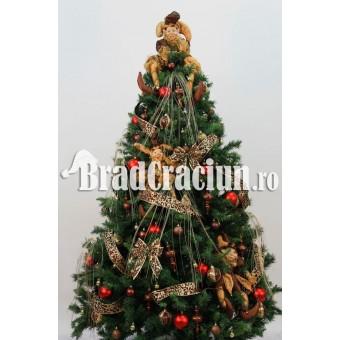 """Brad de Craciun 240 cm """"clovni jucausi"""""""