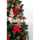 "Brad de Craciun 360 cm ""reni in padurea cu brazi"""