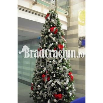 "Brad de Craciun 360 cm ""stele de gheata"""