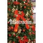 """Brad de Craciun 340 cm """"fantezie rosie 2"""""""