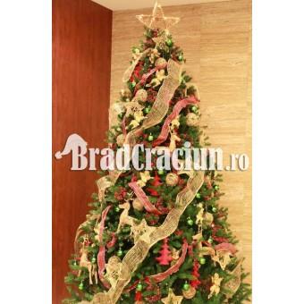 "Brad de Craciun 340 cm ""feerie rustica"""