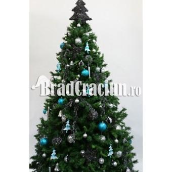 "Brad de Craciun 340 cm ""Noapte instelata"""