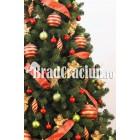 """Brad de Craciun 340 cm """"fantezie in dungi"""""""