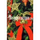 """Brad de Craciun 360 cm """"alegorie rustica"""""""