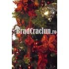 """Brad de Craciun 270 cm """"argint inflacarat"""""""