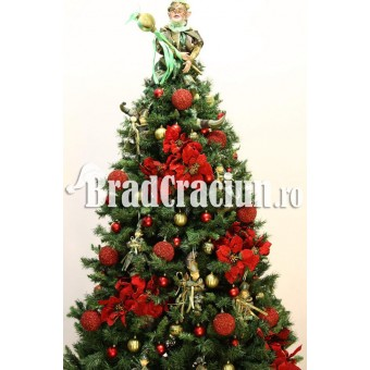 """Brad de Craciun 270 cm """"craciun princiar"""""""