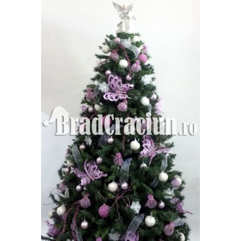 """Brad de Craciun 270 cm """"pastel de iarna"""""""