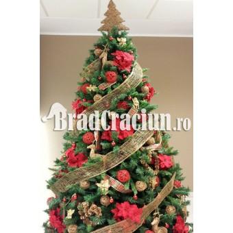 """Brad de Craciun 270 cm """"renii lui Mos Craciun 1"""""""