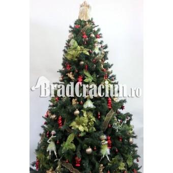 """Brad de Craciun 300 cm """"petrecere de Craciun"""""""