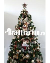 "Brad de Craciun 270 cm ""Craciun in Alpi"""
