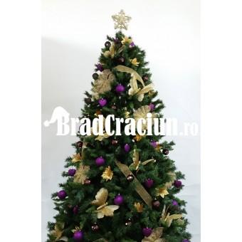"""Brad de Craciun 270 cm """"fluturi pe campul de campanule"""""""