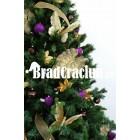 """Brad de Craciun 300 cm """"fluturi pe campul de campanule"""""""